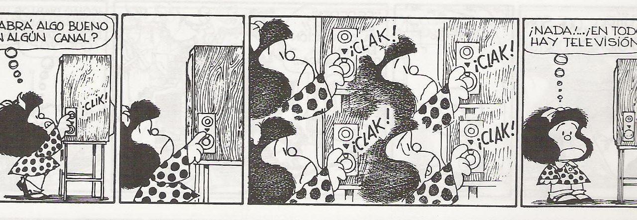 Mafalda III: en todas sólo hay tv
