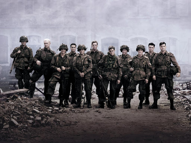 Recomendamos series: HERMANOS DE SANGRE (Band of Brothers, HBO, 2001)