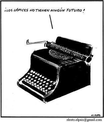 El Roto: soberbia tecnológica.