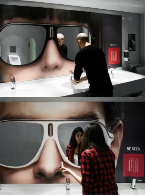 bath mirror Republique Beirut