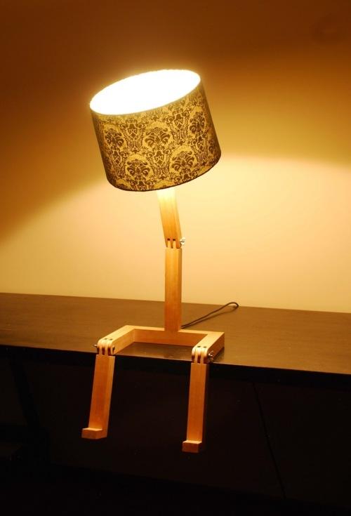 sitting lamp Graeme Bettles