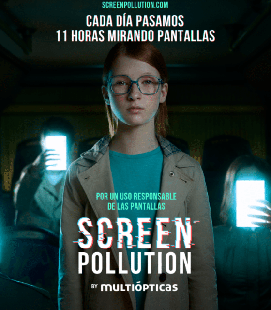 Screenpollution 2. Una nueva aportación de Multiópticas.